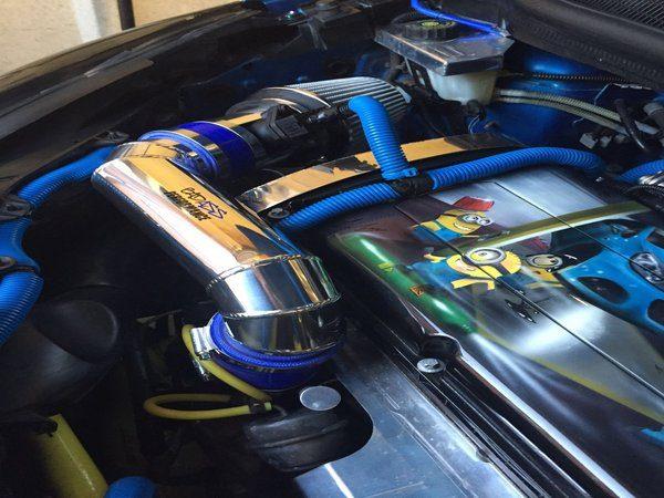 Corsa D 1.6t Induction Kit