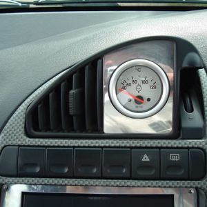 WATER TEMPERATURE GAUGE AND SURROUND