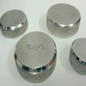 ALL 4 CAPS WITH OR WITH OUT ENGRAVING