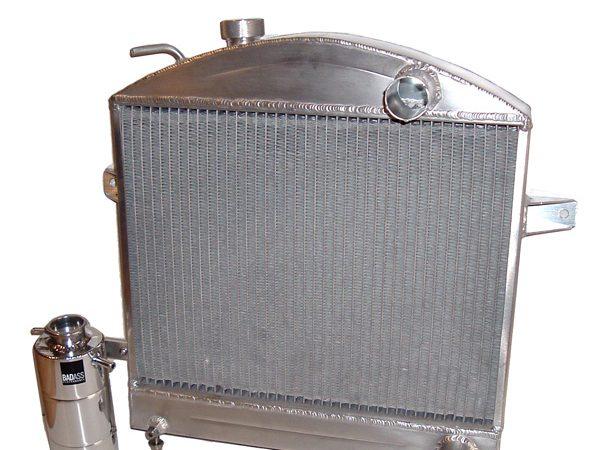custom made aluminium car radiator