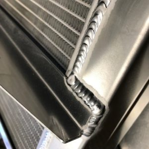 CUSTOM MADE ALUMINIUM CAR RADIATOR