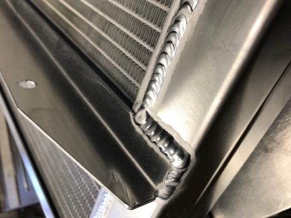 Custom Built Car Radiator
